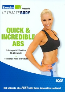 QUICK & INCREDIBLE ABS - Format: [DVD Movie]
