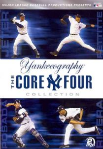 Yankeeography: The Core Four Collection DVD Movie
