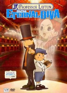 PROFESSOR LAYTON AND THE ETERNAL DIVA - DVD Movie