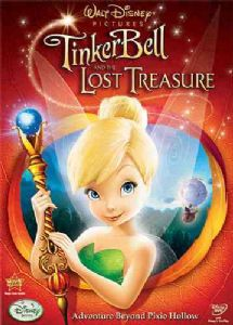 TINKER BELL AND THE LOST TREASURE - DVD Movie