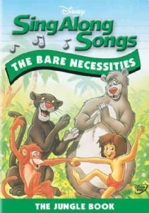 SING ALONG SONGS:BARE NECESSITIES - Format: [DVD M