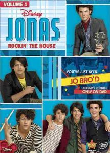 JONAS:ROCKIN THE HOUSE VOL 1 - Format: [DVD Movie]