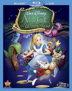 ALICE IN WONDERLAND 60TH ANN ED - Blu-Ray