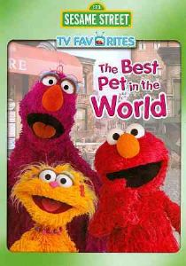 SESAME STREET:BEST PET IN THE WORLD - DVD Movie