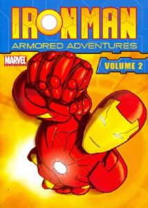 IRON MAN:ARMORED ADVENTURES VOL 2 - DVD Movie