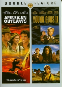 AMERICAN OUTLAWS/YOUNG GUNS 2 - Format: [DVD Movie