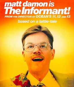 INFORMANT - Blu-Ray Movie