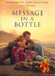 MESSAGE IN A BOTTLE - DVD Movie