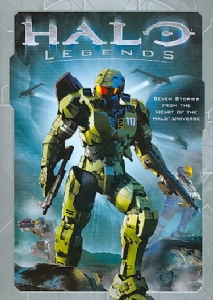 HALO LEGENDS - DVD Movie