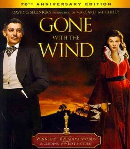 GONE WITH THE WIND - Blu-Ray Movie