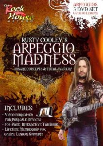 RUSTY COOLEY:ARPEGGIO MADNESS - DVD Movie