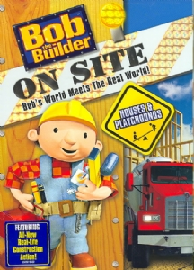 BOB THE BUILDER ON SITE:HOUSES & PLAY - DVD Movie