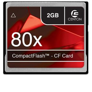 Centon Advanced 2GB CompactFlash Memory Card
