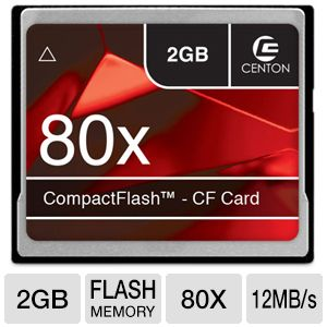 Centon 2GB Advanced CF Flash Memory Card