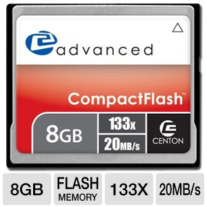Centon 8GB Advanced CF Flash Memory Card