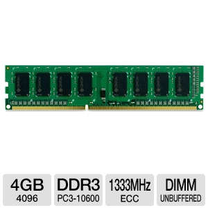 Centon 4GB Server Memory Module Apple Compatible