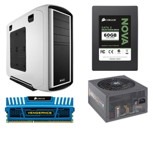 Corsair Graphite Series 600T Builders Bundle