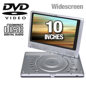 Coby TFDVD1020 Portable DVD Player
