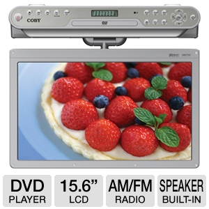 COBY KTFDVD1560 Under-the-Cabinet DVD Player