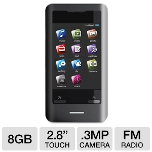 COBY MP828 8GB MP3 Player