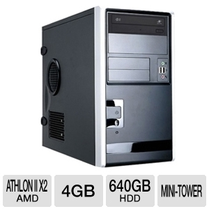 CybertronPC Quantum QBA2320 Mini-Tower Server