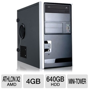 CybertronPC Quantum TSVQBA121 Mini-Tower Server