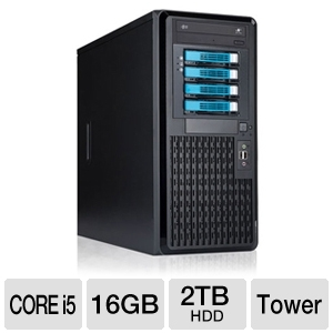 CybertronPC Caliber TSVCJA141 Tower Server