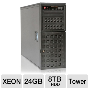 CybertronPC Magnum TSVMIB1281 Tower Server