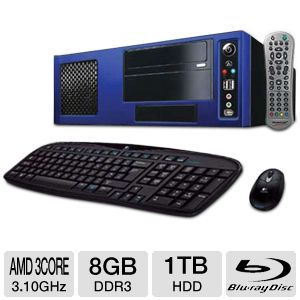 CybertronPC Firebox TMCMA1130A Media Center PC