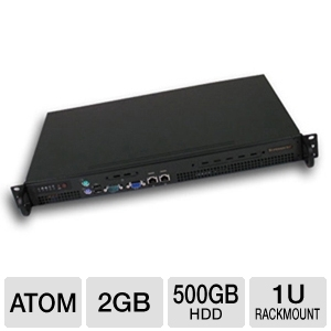 CybertronPC Quantum TSVQKA121 1U Rackmount Server