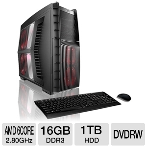 CybertronPC Hurricane TGM2261A Gaming PC