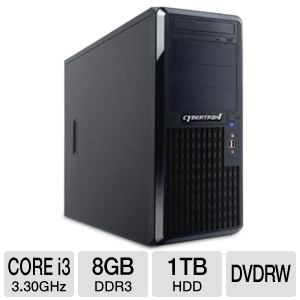 CybertronPC TSVCJA421 Caliber Tower Server