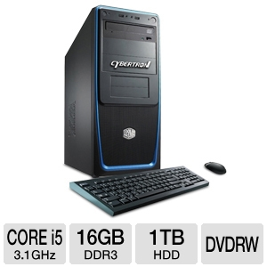 CybertronPC Blueprint Core i5 1TB HDD 16GB DDR3 WS