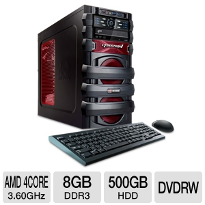 CybertronPC 5150 Escape AMD FX w/Radeon HD6670