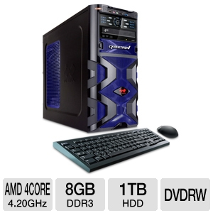 CybertronPC Assassin AMD FX w/2x HD6570 CrossFireX