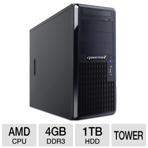 CybertronPC AMD Fusion Quantum Tower Server
