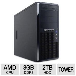 CybertronPC TSVQBA142 Quantum Tower Server