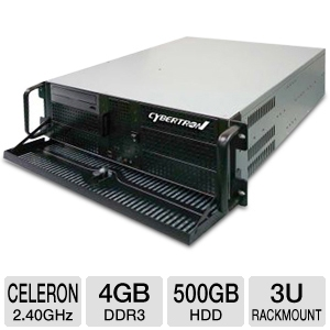 CybertronPC Quantum 3U Rackmount Server