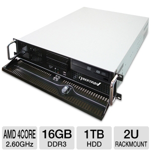 CybertronPC Quantum AMD 2U Rackmount Server