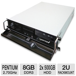 CybertronPC Caliber Pentium 2U Rackmount Server
