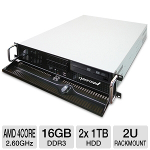 CybertronPC Caliber AMD 2U Rackmount Server