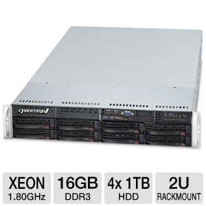 CybertronPC Magnum 2x Xeon 2U Rackmount Server