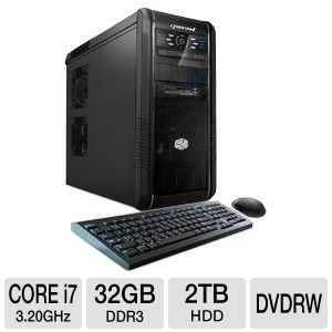 CybertronPC Core i7 2TB HDD 32GB DDR3 Gaming PC