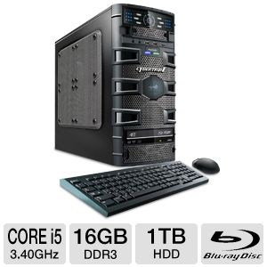 CybertronPC Slayer II 3rd Gen Core i5 Gaming PC