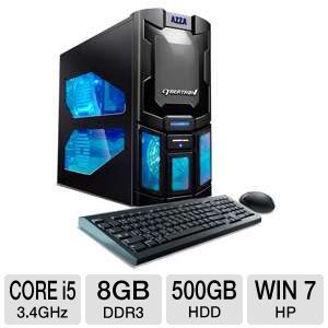CybertronPC Spartan Core i5 500GB HDD Gaming PC