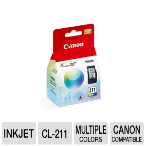Canon CL-211 2976B001 Color Ink Tank REFURB