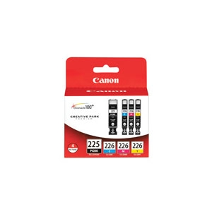Canon 226 CLI-226 4 Color Ink Cartridge Pack