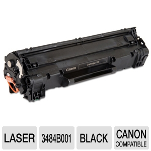 Canon 125 3484B001AA Black Toner Cartridge  REFURB