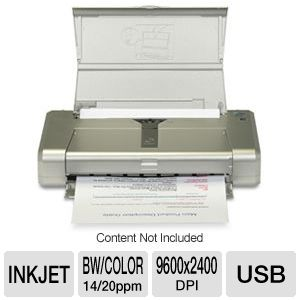Canon IP100 PIXMA Portable Photo Inkjet Printer