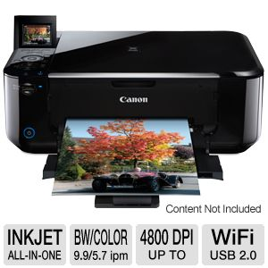 Canon PIXMA MG4120 WiFi All-In-One w/ Duplex